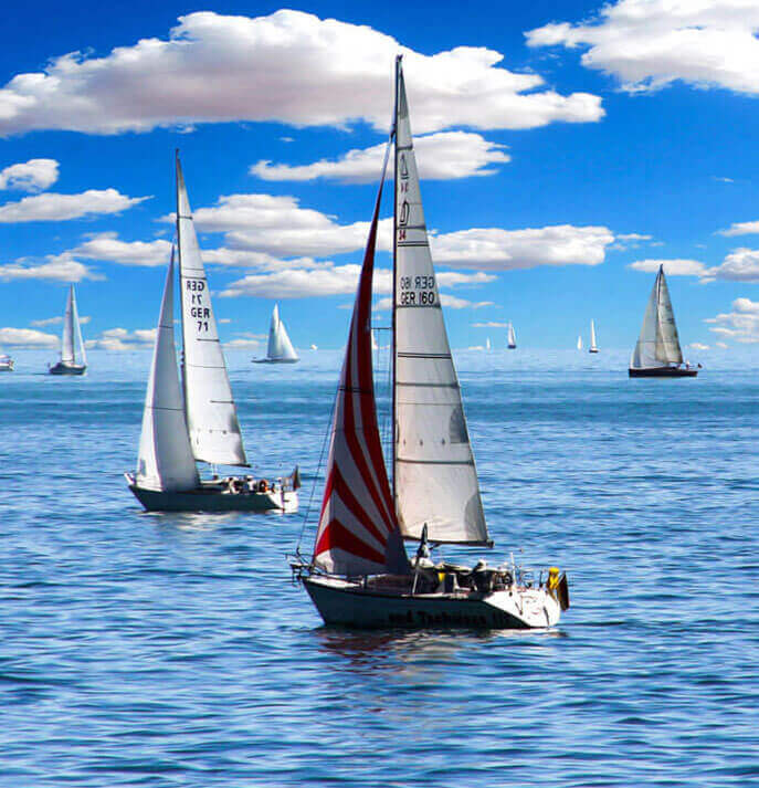 Digital information management for sailing sports authority